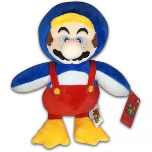 Pluche Mario Bros Knuffel Mario Eend 30 cm