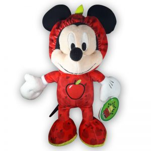 Pluche Disney Mickey Mouse & Friends Fruit Rood Knuffel 30 cm