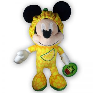 Pluche Disney Mickey Mouse & Friends Fruit Geel Knuffel 30 cm