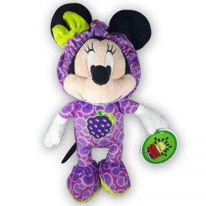 Pluche Disney Mickey Mouse & Friends Fruit Paars Knuffel 30 cm