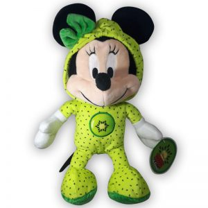 Pluche Disney Mickey Mouse & Friends Fruit Groen Knuffel 30 cm