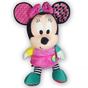 Pluche Disney Baby Minnie Mouse Roze/Groen 30 cm