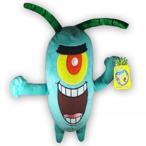 Pluche Spongebob Squarepants Plankton Knuffel 30cm