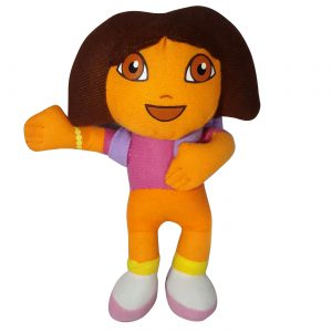 Dora de Explorer Pluche Knuffel 22 cm