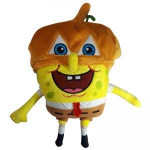SpongeBob SquarePants Pluche Knuffel met muts 23cm