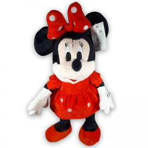 Minnie Mouse Pluche Knuffel Rood 25cm