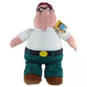 Pluche Family Guy Peter Griffin Knuffel 26 cm