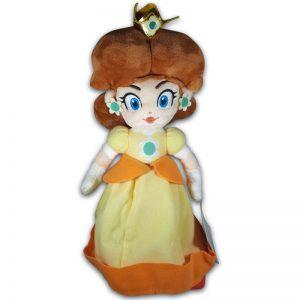 Pluche Mario Bros Knuffel Princess Daisy 35 cm