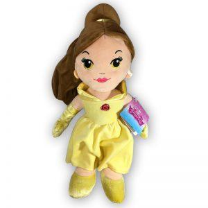 Pluche Disney Princess Belle & the Beast, Belle 40 cm