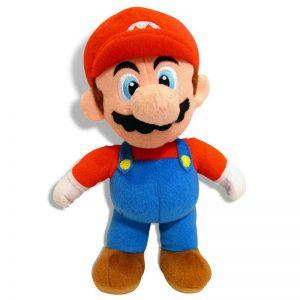 Pluche Mario Bros Knuffel Mario 30 cm
