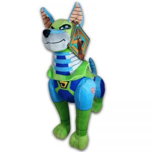 Scoob! Pluche Scooby Doo Dynomutt Knuffel 30 cm