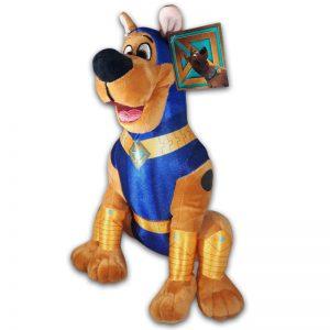 Scoob! Pluche Scooby Doo Blauw Superhero Knuffel 30 cm