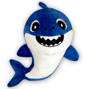 Pluche Papa Shark Smile Toys Knuffel 40 cm