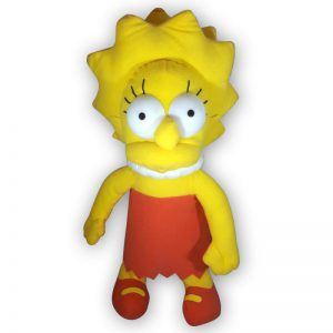 Pluche The Simpsons - Lisa Simpson Knuffel 38 cm