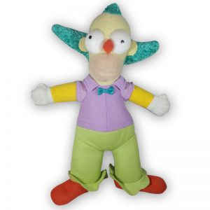 Pluche The Simpsons - Krusty Knuffel 28 cm