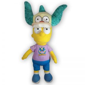 Pluche The Simpsons - Bart Simpson met pet Knuffel 45 cm