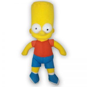 Pluche The Simpsons - Bart Simpson Knuffel 23 cm