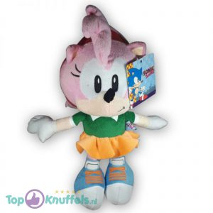 Pluche Amy Rose Knuffel (Sonic The Hedgehog) 30 cm