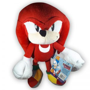 Pluche Knuckles Knuffel (Sonic The Hedgehog) 30 cm