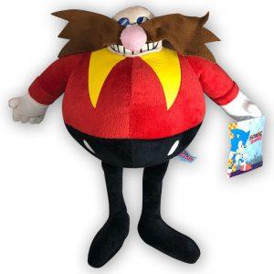 Pluche Dr. Eggman Knuffel (Sonic The Hedgehog) 30 cm