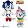 Sonic The Hedgehog + Amy Rose Pluche Knuffel Set 30 cm