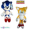 Sonic The Hedgehog + Miles Prower Pluche Knuffel Set 30 cm