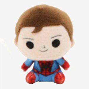 Pluche Spiderman Peter Parker Knuffel 8 cm
