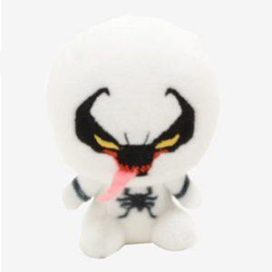 Pluche Spiderman Venom Wit Knuffel 8 cm