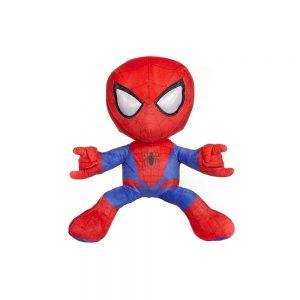 Pluche Spiderman Knuffel Schietend Rood 33 cm