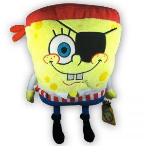 Pluche Spongebob Squarepants Piraat Knuffel 30cm
