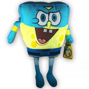 Pluche Spongebob Squarepants Superheld met cape Knuffel 30cm