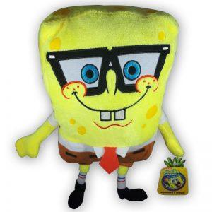 Pluche Spongebob Squarepants met bril Knuffel 30cm