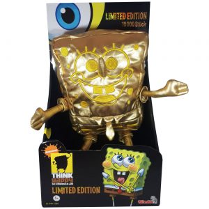 Spongebob Squarepants Goud - LIMITED EDITION - 30 cm