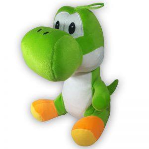Pluche Mario Bros Yoshi Lichtgroen Knuffel 30 cm