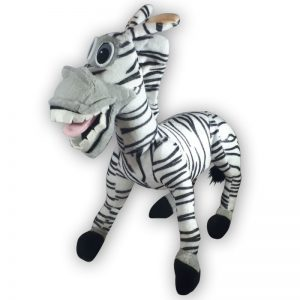Pluche Madagascar Zebra Marty Knuffel 28 cm