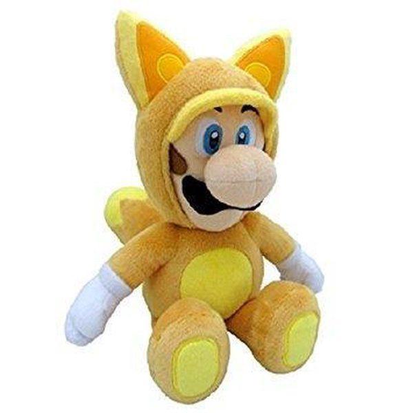 Mario Bross Luigi Plush Power Knuffel Bruin 30 cm