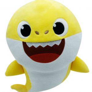 Baby Shark Geel Pluche Knuffel 30 cm | Originele Baby Shark Pinkfong Plush