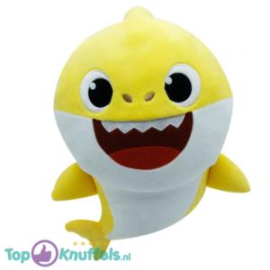 Baby Shark Geel Pluche Knuffel 30 cm