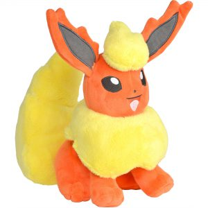 Pokemon Flareon Pluche Knuffel 22 cm Eevee Evolve Evolution