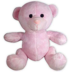 Pluche Teddybeer Knuffel Roze 25 cm kopen? Topknuffels.nl