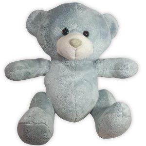 Pluche Teddybeer Knuffel Grijs Knuffelbeer 25 cm