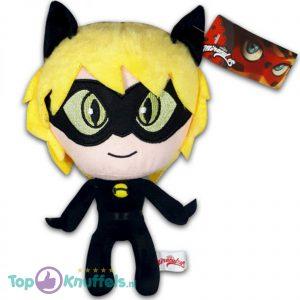 Miraculous Ladybug Cat Noir Pluche Knuffel 24 cm