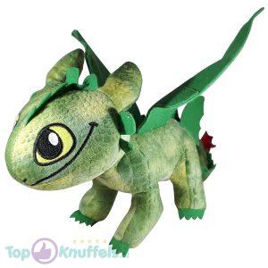 Hoe tem je een draak / How to train your dragon Toothless Draken Pluche Knuffel 30 cm (Groen)
