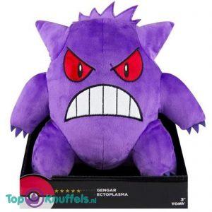 Pokemon Gengar Tomy Pluche Knuffel 25 cm