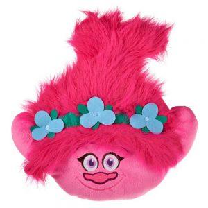 Trolls Poppy Pluche Knuffel 36 cm | Trolls Wereldtour | Trolls World tour | Roze Knuffel kussen