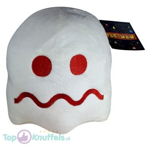 Pac-Man Pluche Spook Knuffel Wit 25 cm