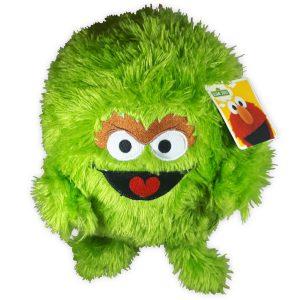 Pluche Oscar Sesamstraat Knuffel 25 cm Oscar Originele knuffel | Cookiemonster / Koekie monster / Elmo