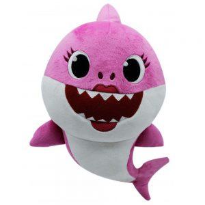 Baby Mama Shark Roze Pluche Knuffel 30 cm | Originele Baby Mother Shark Pinkfong Plush | Mommy Shark