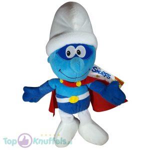 De Smurfen Pluche Knuffel Superheld 40 cm