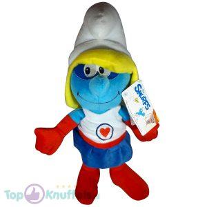 De Smurfen Pluche Knuffel Baby Superheldin 40 cm